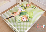 New Hanayo Koizumi - Love Live Japanese Anime Bed Blanket or Duvet Cover with Pillow Covers H0179 - Anime Dakimakura Pillow Shop | Fast, Free Shipping, Dakimakura Pillow & Cover shop, pillow For sale, Dakimakura Japan Store, Buy Custom Hugging Pillow Cover - 2