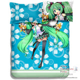 New Hatsune Miku - Vocaloid Japanese Anime Bed Blanket or Duvet Cover with Pillow Covers ADP-CP150013 - Anime Dakimakura Pillow Shop | Fast, Free Shipping, Dakimakura Pillow & Cover shop, pillow For sale, Dakimakura Japan Store, Buy Custom Hugging Pillow Cover - 3