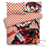 New Kurumi Tokisaki - Date a Live Japanese Anime Bed Blanket or Duvet Cover with Pillow Covers ADP-CP150005 - Anime Dakimakura Pillow Shop | Fast, Free Shipping, Dakimakura Pillow & Cover shop, pillow For sale, Dakimakura Japan Store, Buy Custom Hugging Pillow Cover - 2