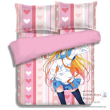 New Chitoge - Nisekoi Japanese Anime Bed Blanket or Duvet Cover with Pillow Covers ADP-CP150016 - Anime Dakimakura Pillow Shop | Fast, Free Shipping, Dakimakura Pillow & Cover shop, pillow For sale, Dakimakura Japan Store, Buy Custom Hugging Pillow Cover - 4