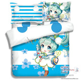 New Hatsune Miku - Vocaloid Japanese Anime Bed Blanket or Duvet Cover with Pillow Covers ADP-CP150012 - Anime Dakimakura Pillow Shop | Fast, Free Shipping, Dakimakura Pillow & Cover shop, pillow For sale, Dakimakura Japan Store, Buy Custom Hugging Pillow Cover - 2