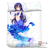 New Sonoda Umi - Love Live Japanese Anime Bed Blanket or Duvet Cover with Pillow Covers Blanket 7 - Anime Dakimakura Pillow Shop | Fast, Free Shipping, Dakimakura Pillow & Cover shop, pillow For sale, Dakimakura Japan Store, Buy Custom Hugging Pillow Cover - 2
