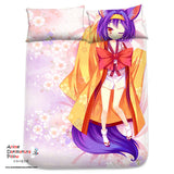 New Hatsuse Isuna - No Game No Life Japanese Anime Bed Blanket or Duvet Cover with Pillow Covers Blanket 3 - Anime Dakimakura Pillow Shop | Fast, Free Shipping, Dakimakura Pillow & Cover shop, pillow For sale, Dakimakura Japan Store, Buy Custom Hugging Pillow Cover - 2
