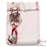 New Amatsukaze Kai - Kantai Collection Japanese Anime Bed Blanket or Duvet Cover with Pillow Covers Blanket 1 - Anime Dakimakura Pillow Shop | Fast, Free Shipping, Dakimakura Pillow & Cover shop, pillow For sale, Dakimakura Japan Store, Buy Custom Hugging Pillow Cover - 2