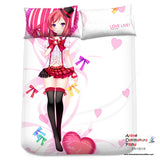 New Nishikino Maki - Love Live Japanese Anime Bed Blanket or Duvet Cover with Pillow Covers Blanket 5 - Anime Dakimakura Pillow Shop | Fast, Free Shipping, Dakimakura Pillow & Cover shop, pillow For sale, Dakimakura Japan Store, Buy Custom Hugging Pillow Cover - 2