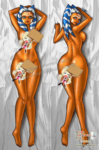 New Ahsoka Anime Dakimakura Japanese Pillow Custom Designer Grrriva ADC592 - Anime Dakimakura Pillow Shop | Fast, Free Shipping, Dakimakura Pillow & Cover shop, pillow For sale, Dakimakura Japan Store, Buy Custom Hugging Pillow Cover - 1