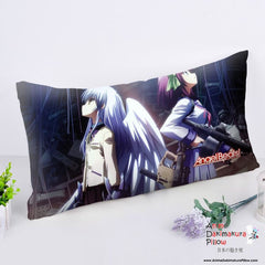New Angel Beats Anime Dakimakura Rectangle Pillow Cover RPC200