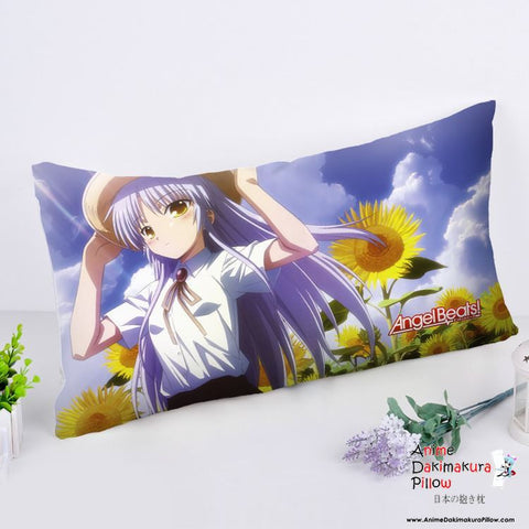 New Angel Beats Anime Dakimakura Rectangle Pillow Cover RPC201 - Anime Dakimakura Pillow Shop | Fast, Free Shipping, Dakimakura Pillow & Cover shop, pillow For sale, Dakimakura Japan Store, Buy Custom Hugging Pillow Cover - 1