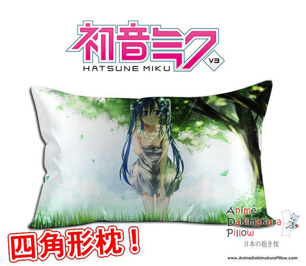 New Hatsune Miku - Vocaloid Anime Waifu Dakimakura Rectangle 40x70cm Pillow Cover GZFONG-20 - Anime Dakimakura Pillow Shop | Fast, Free Shipping, Dakimakura Pillow & Cover shop, pillow For sale, Dakimakura Japan Store, Buy Custom Hugging Pillow Cover - 1