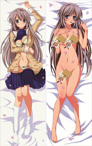 New Clannad Anime Dakimakura Japanese Pillow Cover Clan11 - Anime Dakimakura Pillow Shop | Fast, Free Shipping, Dakimakura Pillow & Cover shop, pillow For sale, Dakimakura Japan Store, Buy Custom Hugging Pillow Cover - 1