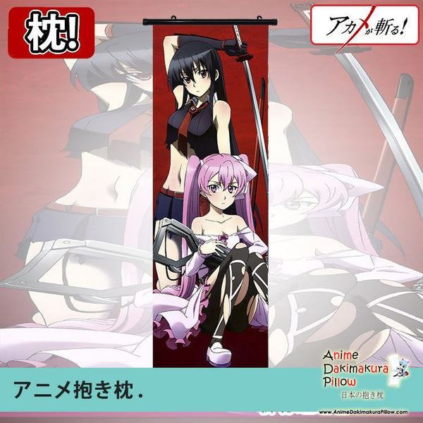 New Akame ga Kill Dakimakura Anime Wall Poster Banner Japanese Art Otaku Limited Edition GZFONG021