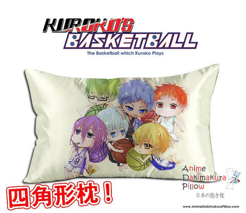 New Kuroko no Basket Anime Waifu Dakimakura Rectangle 40x70cm Pillow Cover GZFONG-21 - Anime Dakimakura Pillow Shop | Fast, Free Shipping, Dakimakura Pillow & Cover shop, pillow For sale, Dakimakura Japan Store, Buy Custom Hugging Pillow Cover - 1