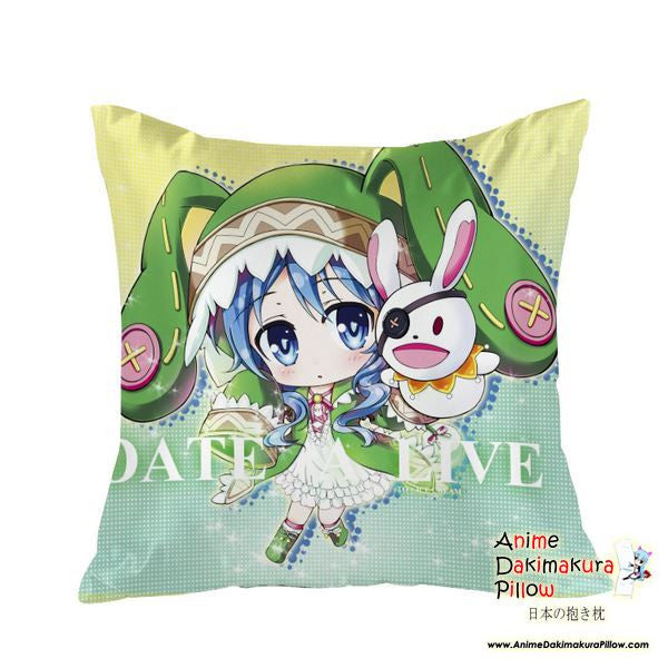 New Yoshino - Date a Live Anime Dakimakura Square Pillow Cover GZFONG21