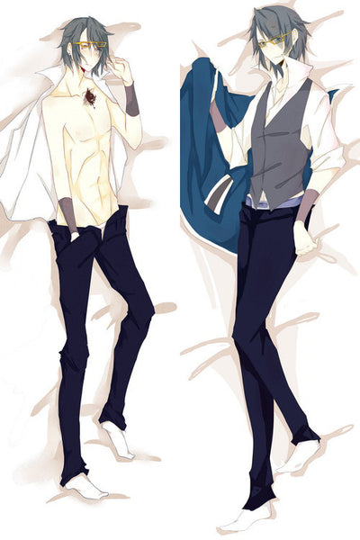 New  Male K Project Anime Dakimakura Japanese Pillow Cover MALE21