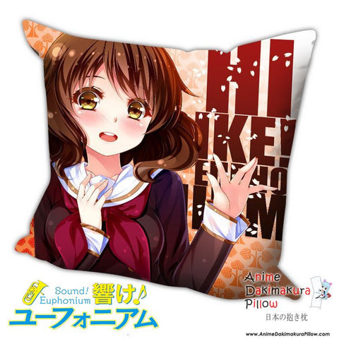 New Kumiko Oumae - Sound! Euphonium Anime Dakimakura Square Pillow Cover H021 - Anime Dakimakura Pillow Shop | Fast, Free Shipping, Dakimakura Pillow & Cover shop, pillow For sale, Dakimakura Japan Store, Buy Custom Hugging Pillow Cover - 1