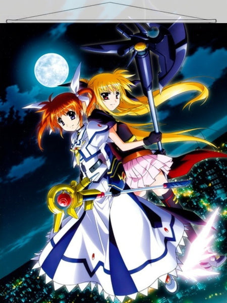 Magical Girl Lyrical Nanoha Japanese Anime Wall Scroll Poster and Banner 22 - Anime Dakimakura Pillow Shop | Fast, Free Shipping, Dakimakura Pillow & Cover shop, pillow For sale, Dakimakura Japan Store, Buy Custom Hugging Pillow Cover - 1