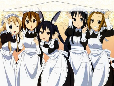 K-On Japanese Anime Wall Scroll Poster and Banner 22 - Anime Dakimakura Pillow Shop | Fast, Free Shipping, Dakimakura Pillow & Cover shop, pillow For sale, Dakimakura Japan Store, Buy Custom Hugging Pillow Cover - 1