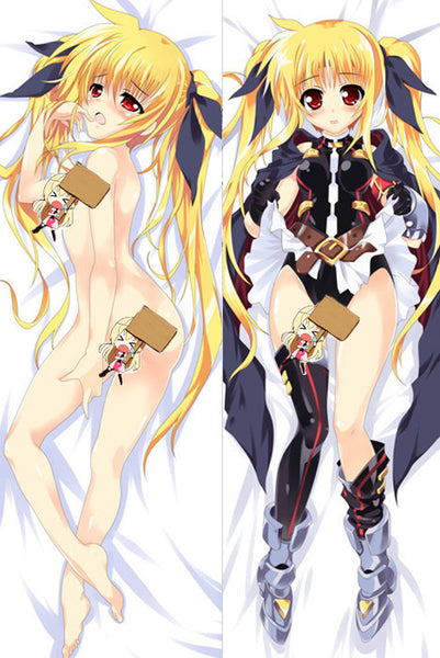 New  Magical Girl Lyrical Nanoha Anime Dakimakura Japanese Pillow Cover ContestFortyOne19