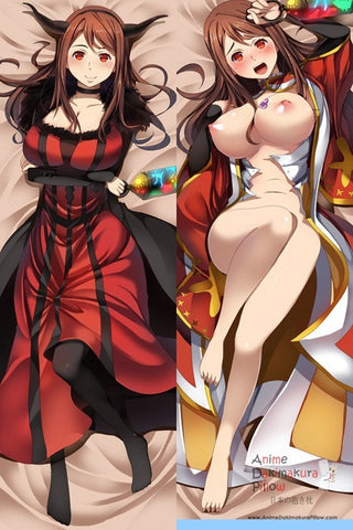 New  Maoyuu Maou Yuusha  Anime Dakimakura Japanese Pillow Cover ContestSixtySix 23 - Anime Dakimakura Pillow Shop | Fast, Free Shipping, Dakimakura Pillow & Cover shop, pillow For sale, Dakimakura Japan Store, Buy Custom Hugging Pillow Cover - 1