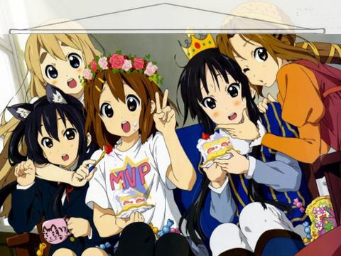 K-On Japanese Anime Wall Scroll Poster and Banner 23 - Anime Dakimakura Pillow Shop | Fast, Free Shipping, Dakimakura Pillow & Cover shop, pillow For sale, Dakimakura Japan Store, Buy Custom Hugging Pillow Cover - 1