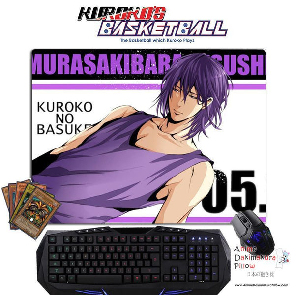 New Atsushi Murasakibara - Kuroko no Basket Anime Gaming Mouse Pad Deluxe Multipurpose Playmat GZFONG-P24 - Anime Dakimakura Pillow Shop | Fast, Free Shipping, Dakimakura Pillow & Cover shop, pillow For sale, Dakimakura Japan Store, Buy Custom Hugging Pillow Cover - 1