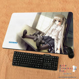 New Sora Kasugano - Yosuga no Sora Anime Gaming Playmat Multipurpose Mousepad PM24 - Anime Dakimakura Pillow Shop | Fast, Free Shipping, Dakimakura Pillow & Cover shop, pillow For sale, Dakimakura Japan Store, Buy Custom Hugging Pillow Cover - 1
