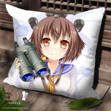 New Kantai Collection Anime Dakimakura Square Pillow Cover SPC24 - Anime Dakimakura Pillow Shop | Fast, Free Shipping, Dakimakura Pillow & Cover shop, pillow For sale, Dakimakura Japan Store, Buy Custom Hugging Pillow Cover - 1