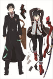 New Blue Exorcist  Anime Dakimakura Japanese Pillow Cover 2 - Anime Dakimakura Pillow Shop | Fast, Free Shipping, Dakimakura Pillow & Cover shop, pillow For sale, Dakimakura Japan Store, Buy Custom Hugging Pillow Cover - 1