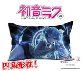 New Hatsune Miku - Vocaloid Anime Waifu Dakimakura Rectangle 40x70cm Pillow Cover GZFONG-25 - Anime Dakimakura Pillow Shop | Fast, Free Shipping, Dakimakura Pillow & Cover shop, pillow For sale, Dakimakura Japan Store, Buy Custom Hugging Pillow Cover - 1
