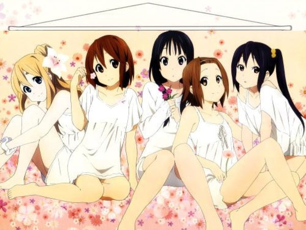 K-On Japanese Anime Wall Scroll Poster and Banner 26 - Anime Dakimakura Pillow Shop | Fast, Free Shipping, Dakimakura Pillow & Cover shop, pillow For sale, Dakimakura Japan Store, Buy Custom Hugging Pillow Cover - 1