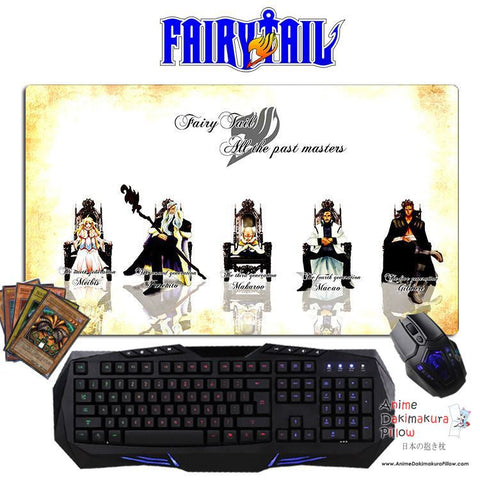 New Fairy Tail Anime Gaming Mouse Pad Deluxe Multipurpose Playmat GZFONG-P26 - Anime Dakimakura Pillow Shop | Fast, Free Shipping, Dakimakura Pillow & Cover shop, pillow For sale, Dakimakura Japan Store, Buy Custom Hugging Pillow Cover - 1
