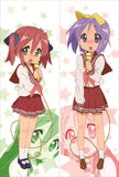 New Lucky Star Anime Dakimakura Japanese Pillow Cover LS19 - Anime Dakimakura Pillow Shop | Fast, Free Shipping, Dakimakura Pillow & Cover shop, pillow For sale, Dakimakura Japan Store, Buy Custom Hugging Pillow Cover - 1