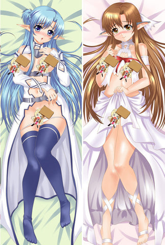 New Asuna Yuuki - Sword Art Online Anime Dakimakura Japanese Pillow Cover ContestThirtySeven17 - Anime Dakimakura Pillow Shop | Fast, Free Shipping, Dakimakura Pillow & Cover shop, pillow For sale, Dakimakura Japan Store, Buy Custom Hugging Pillow Cover - 1