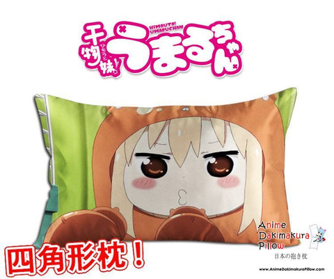 New Umaru Doma - Himouto Umaru Chan Anime Waifu Dakimakura Rectangle 40x70cm Pillow Cover GZFONG291 - Anime Dakimakura Pillow Shop | Fast, Free Shipping, Dakimakura Pillow & Cover shop, pillow For sale, Dakimakura Japan Store, Buy Custom Hugging Pillow Cover - 1