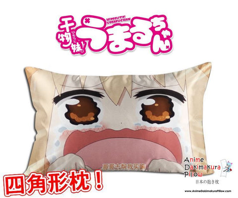 New Umaru Doma - Himouto Umaru Chan Anime Waifu Dakimakura Rectangle 40x70cm Pillow Cover GZFONG293 - Anime Dakimakura Pillow Shop | Fast, Free Shipping, Dakimakura Pillow & Cover shop, pillow For sale, Dakimakura Japan Store, Buy Custom Hugging Pillow Cover - 1