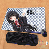 New Kurumi Tokisaki - Date a Live Anime Gaming Playmat Multipurpose Mousepad PM29 - Anime Dakimakura Pillow Shop | Fast, Free Shipping, Dakimakura Pillow & Cover shop, pillow For sale, Dakimakura Japan Store, Buy Custom Hugging Pillow Cover - 1