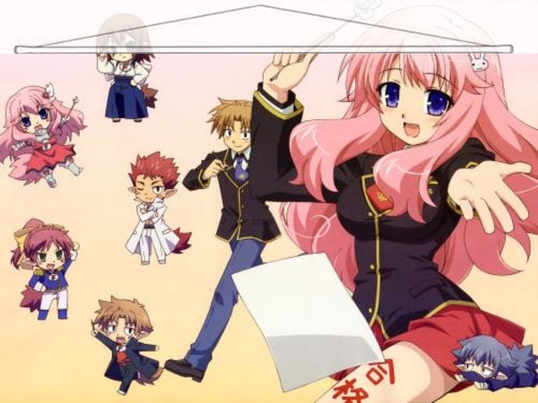 Baka and Test Japanese Anime Wall Scroll Poster and Banner 2