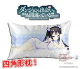 New Hestia - DanMachi Anime Waifu Dakimakura Rectangle 40x70cm Pillow Cover GZFONG-02 - Anime Dakimakura Pillow Shop | Fast, Free Shipping, Dakimakura Pillow & Cover shop, pillow For sale, Dakimakura Japan Store, Buy Custom Hugging Pillow Cover - 1