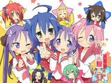 New Lucky Star Japanese Anime Bed Blanket Cover or Duvet Cover Blanket 2 - Anime Dakimakura Pillow Shop | Fast, Free Shipping, Dakimakura Pillow & Cover shop, pillow For sale, Dakimakura Japan Store, Buy Custom Hugging Pillow Cover - 1