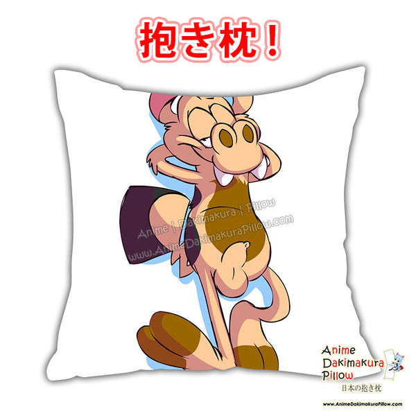New Naughty Weasel Anime Dakimakura Japanese Square Pillow Cover Custom Designer Nuttyporntastic ADC602