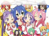 Lucky Star Japanese Anime Wall Scroll Poster and Banner 2 - Anime Dakimakura Pillow Shop | Fast, Free Shipping, Dakimakura Pillow & Cover shop, pillow For sale, Dakimakura Japan Store, Buy Custom Hugging Pillow Cover - 1