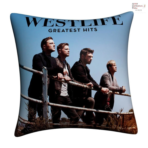 New Westlife Throw Pillow cushion pillowcases cover2 - Anime Dakimakura Pillow Shop | Fast, Free Shipping, Dakimakura Pillow & Cover shop, pillow For sale, Dakimakura Japan Store, Buy Custom Hugging Pillow Cover - 1