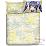 New Hestia - DanMachi Japanese Anime Bed Blanket or Duvet Cover with Pillow Covers ADP-CP150003 - Anime Dakimakura Pillow Shop | Fast, Free Shipping, Dakimakura Pillow & Cover shop, pillow For sale, Dakimakura Japan Store, Buy Custom Hugging Pillow Cover - 6