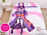 New Konno Yuuki - Sword Art Online Japanese Anime Bed Blanket or Duvet Cover with Pillow Covers Blanket 16 - Anime Dakimakura Pillow Shop | Fast, Free Shipping, Dakimakura Pillow & Cover shop, pillow For sale, Dakimakura Japan Store, Buy Custom Hugging Pillow Cover - 2