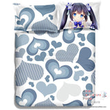 New Hestia - DanMachi Japanese Anime Bed Blanket or Duvet Cover with Pillow Covers ADP-CP150002 - Anime Dakimakura Pillow Shop | Fast, Free Shipping, Dakimakura Pillow & Cover shop, pillow For sale, Dakimakura Japan Store, Buy Custom Hugging Pillow Cover - 6