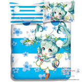 New Hatsune Miku - Vocaloid Japanese Anime Bed Blanket or Duvet Cover with Pillow Covers ADP-CP150012 - Anime Dakimakura Pillow Shop | Fast, Free Shipping, Dakimakura Pillow & Cover shop, pillow For sale, Dakimakura Japan Store, Buy Custom Hugging Pillow Cover - 3