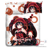 New Kurumi Tokisaki - Date a Live Japanese Anime Bed Blanket or Duvet Cover with Pillow Covers ADP-CP150004 - Anime Dakimakura Pillow Shop | Fast, Free Shipping, Dakimakura Pillow & Cover shop, pillow For sale, Dakimakura Japan Store, Buy Custom Hugging Pillow Cover - 3