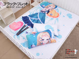 New Tina Sprout - Black Bullet Japanese Anime Bed Blanket or Duvet Cover with Pillow Covers Blanket 2 - Anime Dakimakura Pillow Shop | Fast, Free Shipping, Dakimakura Pillow & Cover shop, pillow For sale, Dakimakura Japan Store, Buy Custom Hugging Pillow Cover - 3