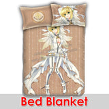 New Saber Nero Claudius - Fate Stay Night Japanese Anime Bed Blanket or Duvet Cover with Pillow Covers ADP-CP160905a