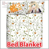 New Yuudachi Poi - Kantai Collection Japanese Anime Bed Blanket or Duvet Cover with Pillow Covers ADP-CP150009 - Anime Dakimakura Pillow Shop | Fast, Free Shipping, Dakimakura Pillow & Cover shop, pillow For sale, Dakimakura Japan Store, Buy Custom Hugging Pillow Cover - 2